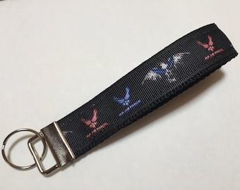 US Air Force Key Fob Keychain wristlet