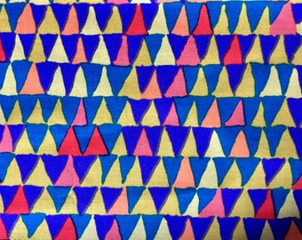 Brandon Mably OOP, rare, Tents, Autumn, Kaffe Fassett collective, by the half yard