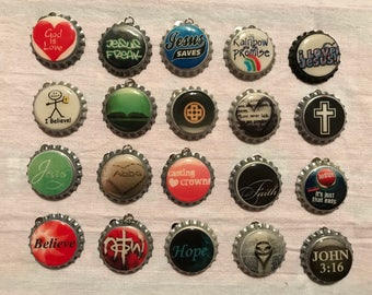 "Bottle caps ""Christian"""