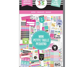 Mom Mini Create 365 Happy Planner Sticker Value Pack Mini (1529/Pkg) Me & My Big Ideas (PPSV-34-3048)