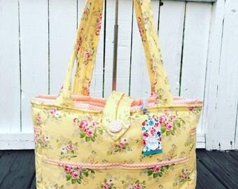 CUSTOMIZE YOUR OWN: Large Bag- Diaper Bag- Work Bag- School Bag- Travel Bag