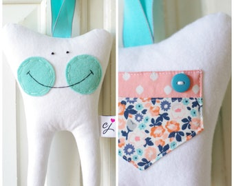Tooth Fairy Pillow for a Girl (Sweet Marion)-READY TO SHIP