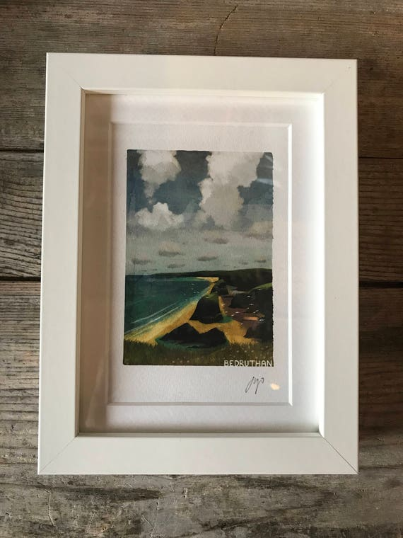 SALE! Bedruthan - Mini Framed Print