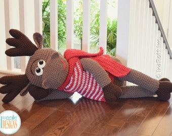 NEW  PATTERN - Eh Moose Big Amigurumi Crochet PDF Pattern with Instant Download