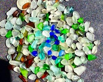 A-Sea Glass! Beach Glass! of Hawaii Beaches 200 jg! Sea Glass SALE! COBALT! AQUA Sea glass for Jewelry! Bulk Sea Glass! Sea Glass Bulk!