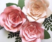 Paper Flower Kit, DIY paper flower kits, nursery decor, over the crib paper flowers, Girls night out craft, paper flower wall, baby shower