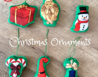 Kids Christmas Ornaments - Kids Ornament Set - Farm Animals, Wild Animals - Boys and Girls Gift Idea - Stocking Stuffer - Holiday Gift Guide
