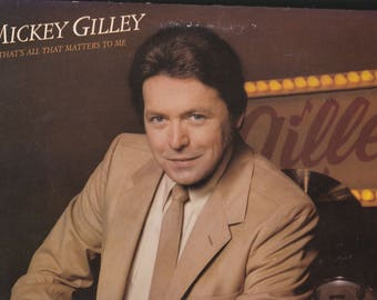 Mickey Gilley That's All The Matters To Me LP Record 1980 Epic Records