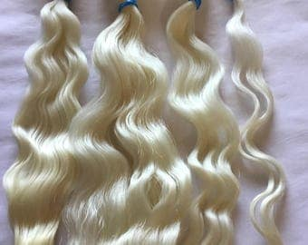 Natural white  9-10 inches