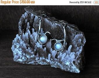 SALE Seer Earrings - Grey Moonstone
