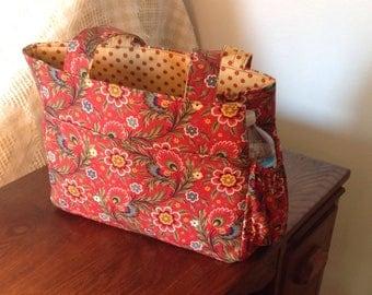 Reversible Tote Bag- Fall Colors