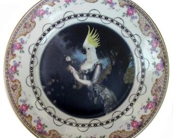 "Nymphicus, Royal Mistress of Hollandicus Plate 8.75"""