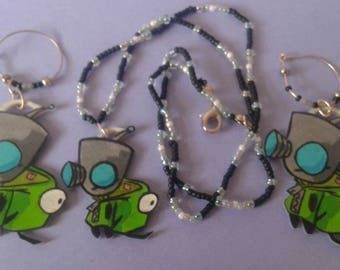invader zim: Gir jewelry