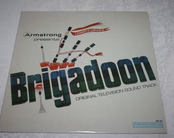 "Vintage Vinyl LP Album "" Brigadoon "" Original TV Movie Sound Track Columbia Record Lerner & Loewes 1966"