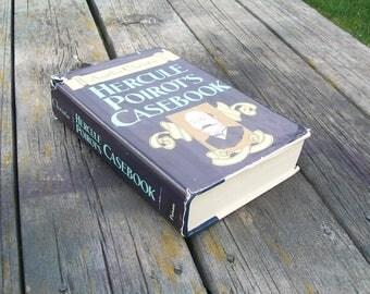 Vintage Book Hercule Poirot's Casebook Agatha Christie 1984 Complete Collection