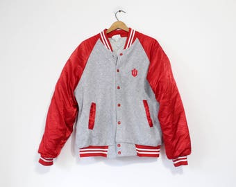 Vintage Indiana University Hoosiers Jacket