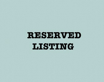Reserved for JF