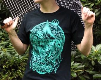 Revengers Shirt   Thor Ragnarok Shirt   Valkyrie Shirt   Hand Screen Printed Thor T-Shirt   Available in plus size