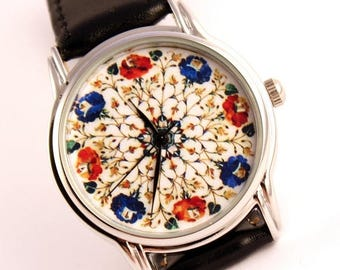 ON SALE 25% OFF Flower print watch