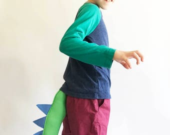 Dinosaur Tail, Dragon Tail for dress up, birthday party favors, plays, costume, cosplay