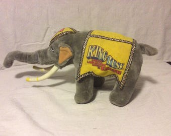 Vintage RIngling Brothers Barnum and Bailey Elephant
