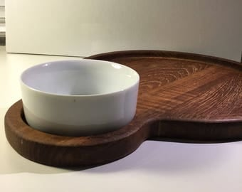 Dansk, Cheese board, Danish Modern, Mid-Century