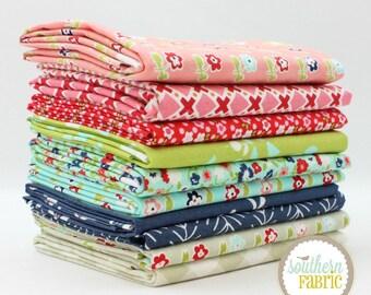 "Garden Grove - Fat Quarter Bundle - 10 - 18""x21"" Cuts - by Mixed Designers Quilt Fabric"
