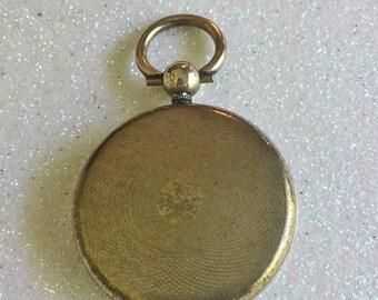 Georgian Gold Gilt Locket for Miniature or Hair