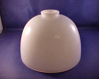 White Milk Glass Lamp Shade