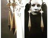Art Deco Jewelry - 1920s Earrings - Art Deco Earrings - Roaring Twenties Jewelry - Miss Fisher - Gifts For Her - Womens Jewelry