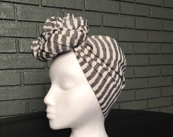 Linen Head Wrap Scarf