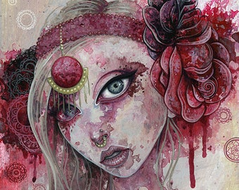 And lovely is the rose - Giclée Print