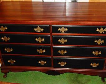 Mahogany Mans Dresser