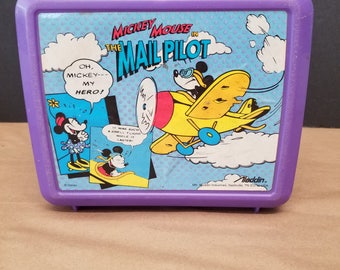 Vintage Mickey Mouse Lunchbox