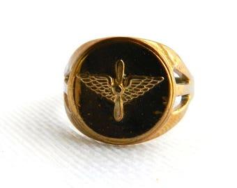 Propeller Ring Etsy