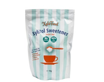 Xylotreat Xyiltol Table top Sweetener - Sugar replacement. Suitable for diabetics and 40% less calories than cane sugar.