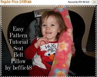 cij sale car seat belt pillow pattern tutorial pdf toddler and kid size