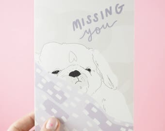 I Miss You Card, Missing You,