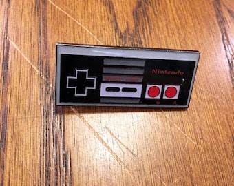 Enamel Pin Nintendo Controller Nintendo Enamel Pin 8 Bit Art Nintendo Pin Video Game Enamel Pin Video Game Pin Video Game Art