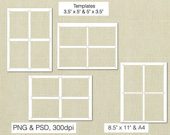 3.5 x 5 Inch RSVP Digital Template, PSD and PNG Formats, Instant Download