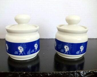 Vintage Morton Salt Sugar/Salt/Jam Bowl