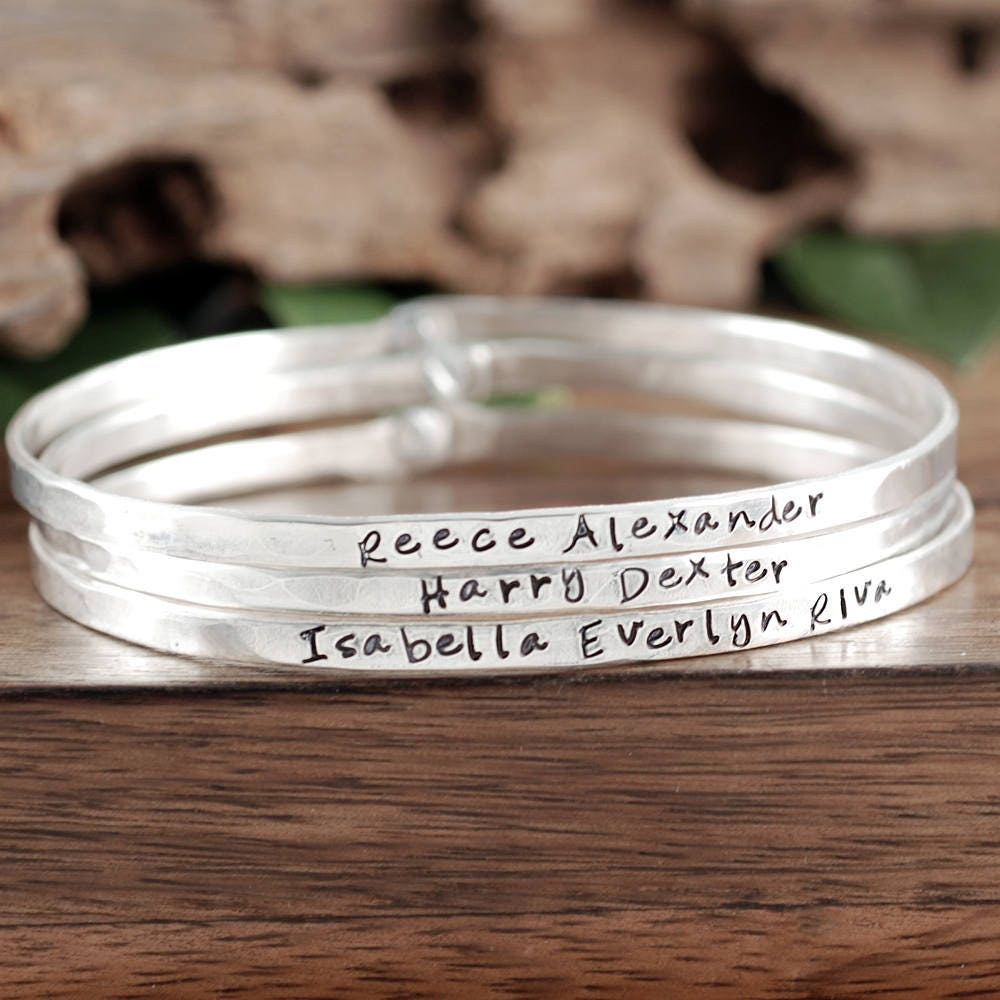 Comfortable Childrens Names Bracelet Photos - Jewelry Collection ...
