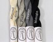 Linen Lace yarn, pure linen, 50 grams,  317 yards, neutrals