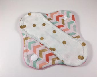 "Cloth Panty Liner 6"" Glitzy Mix Up"