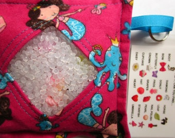 I Spy Bag Game, Mermaids, Girls seek and find, busy bag, travel toy game, kids gift, sensory occupational therapy, eye spy, vacation toy