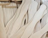 SALE 100 Wavy Fan Sticks - Wedding Sticks, Sticks, Crafty Sticks, Natural Sticks, Wood Sticks, Paddle Fan Sticks, Wooden Fan Sticks