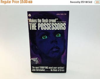 SUMMER BLOWOUT Vintage Horror Book The Possessors by John Christopher 1966 Edition Paperback