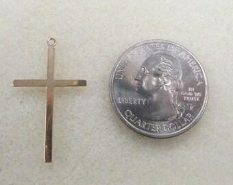 14 Karat Gold Cross Charm