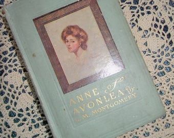 FIRST EDITION, Anne of Avonlea (Sequel to Anne of Green Gables), 1909