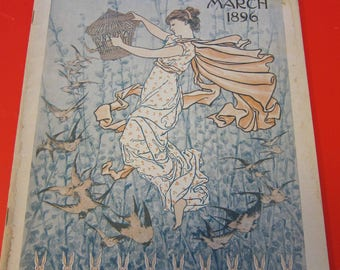 Magazine, Antique, Vintage, Fashions, Ads and Lots More: 1896, The Ladies Home Journal